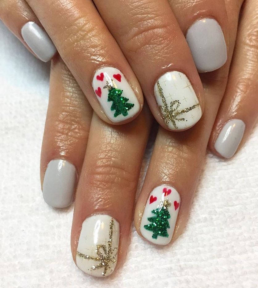 awesome christmas nail art